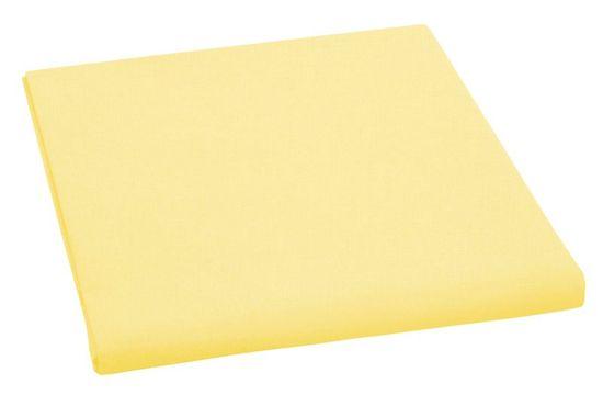 Brotex Prestieradlo bavlnené dvojlôžkové 240x230cm sýto žlte