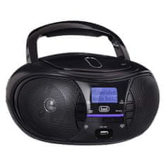 Trevi Przenośny odtwarzacz CD / MP3 CMP 581 DAB BK, Przenośny odtwarzacz CD / MP3 CMP 581 DAB BK
