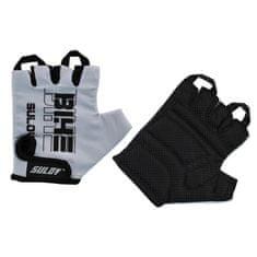 Sulov Senior kolesarske rokavice, črno-sive, L