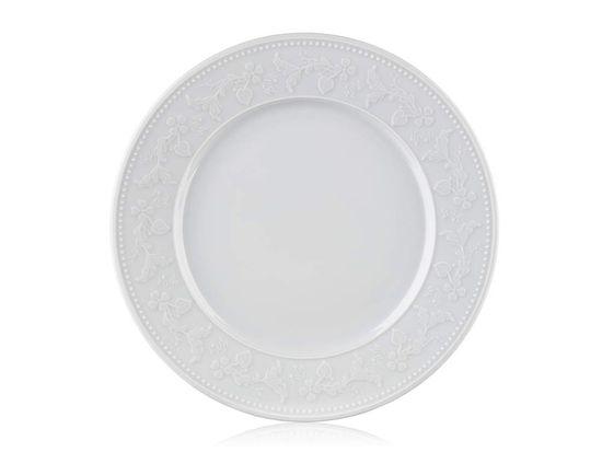 Banquet Silvia porcelanast desertni krožnik, plitvi, 21 cm