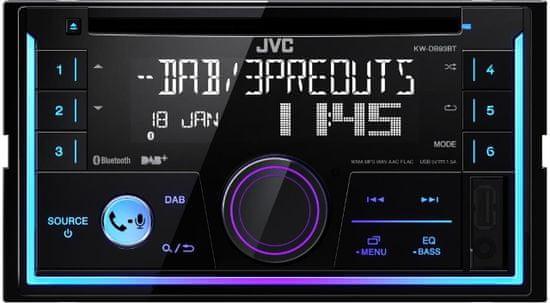 JVC radio samochodowe KW-DB93BT 2DIN