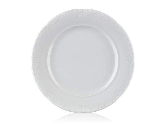 Banquet Caitlin porcelanast desertni krožnik, 19 cm