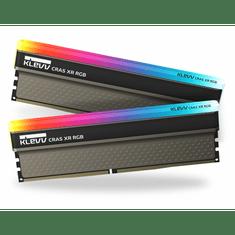 Klevv Cras XR pomnilnik (RAM) Kit, RGB, 16 GB (2x8GB), DDR4-4000MHz, CL19, 1,4 V