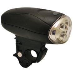 LIFEFIT Halogen 10 Lux 4LED prednja svetilka, črna