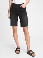 """Gap Jeans Kratke hlače 9"""" high rise denim bermuda shorts 31REG"""