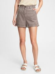 Gap Kratke hlače high rise paperbag shorts 4