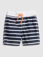 Gap Dětské plavky stripe swim trunks 3YRS