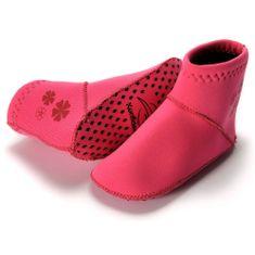KONFIDENCE Neoprenske nogavičke za dojenčke, roza, 7-12 mesecev