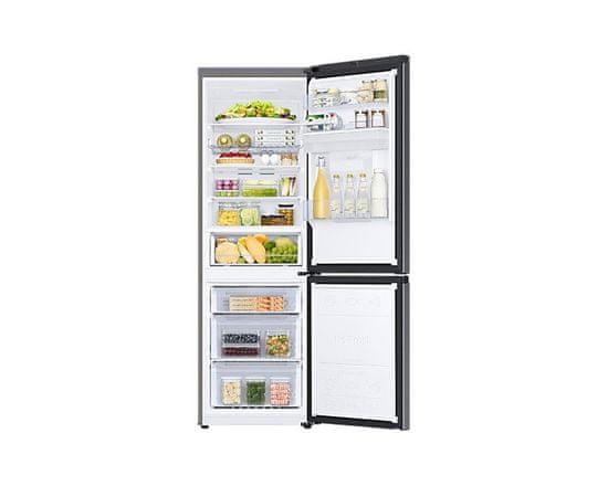 Samsung RB34T652EB1/EF hladilnik z zamrzovalnikom spodaj, črn