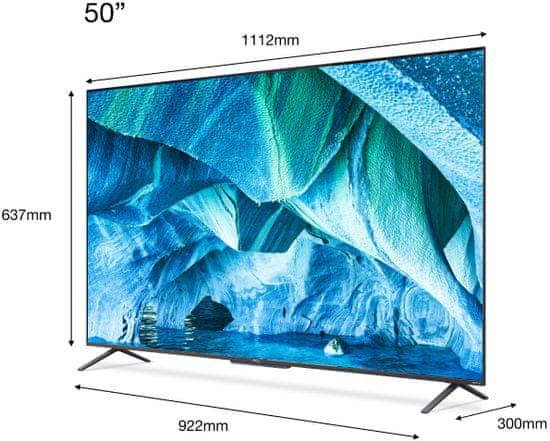 TCL 50C725 QLED 4K TV, Android televizor