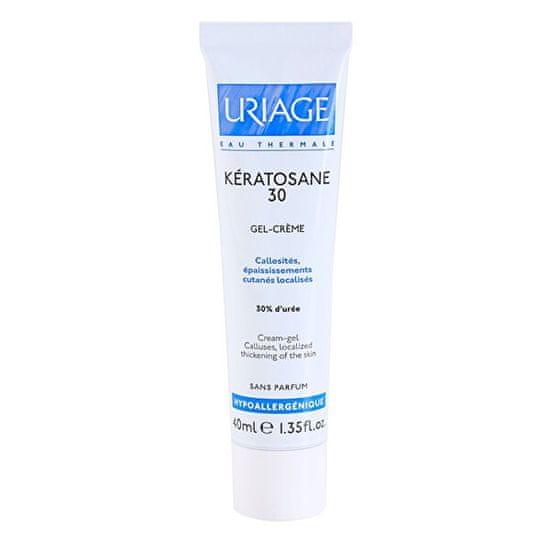 Uriage Zvláčňující gelový krém Kératosane 30 (Cream Gel)