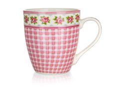 Banquet Candy keramična skodelica, roza, 240 ml
