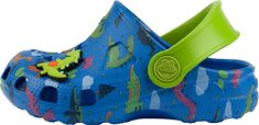 Coqui Little Frog Royal/Lime dino + amulet natikače za dječake, plave, 27/28