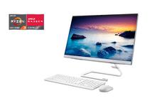 Lenovo IdeaCentre AIO 3 računalnik, R3 4300U 8/256 60,4 cm FHD W10 bel (F0EW007LSC)