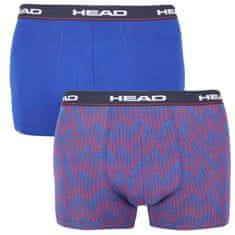 Head 2PACK pánske boxerky modré (100001415 003) - veľkosť M
