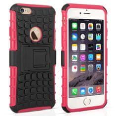 Caseflex plastika ovitek Kickstand Combo za iPhone 6/6s Roza