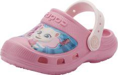 Coqui Crocsy dziewczęce Maxi Talking Tom&Friends Dk. pink/Pale pink 21/22 różowe