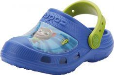 Coqui detské papuče Maxi Talking Tom&Friends Royal/Lime 21/22 modrá