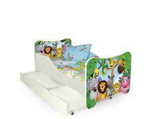 ATAN Dětská postel Happy Jungle