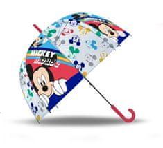 """EUROSWAN Automatikus esernyő átlátszó """"Mickey éger"""""""