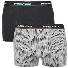 Head 2PACK pánske boxerky viacfarebné (100001415 004) - veľkosť M