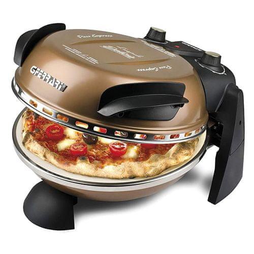 G3 Ferrari Pizza trouba G3ferrari, G1000608 Delizia, pizza trouba, teplota 400°C, bronzová