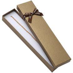 Jan KOS Rjava škatla za zapestnico BR-9 / A21