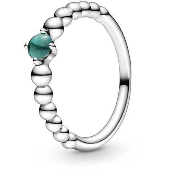 Pandora Stříbrný prsten pro ženy narozené v květnu 198867C05 stříbro 925/1000