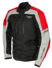 Ayrton bunda Tonny, AYRTON (černá/šedá/červená,vel.S)