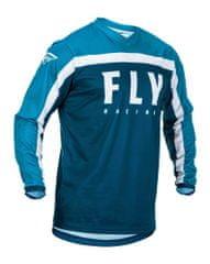 Fly Racing dres F-16 2020, (modrá) velikost 4XL