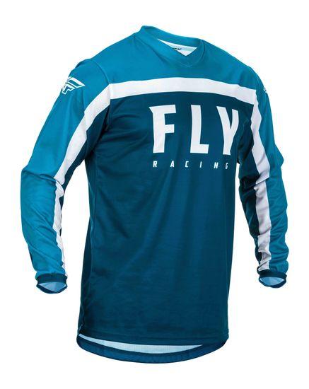 Fly Racing dres F-16 2020, (modrá)