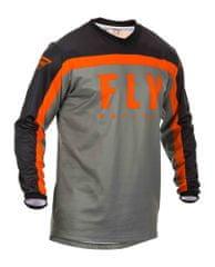 Fly Racing dres F-16 2020, (šedá) velikost XL