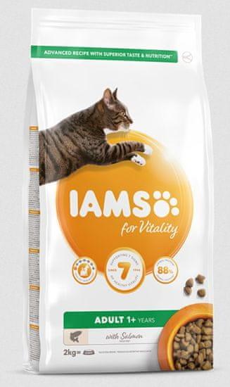 IAMS suha hrana za mačke, losos