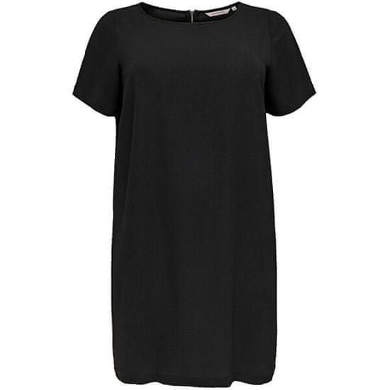 Only Carmakoma Ženska obleka CARLUXINA 15232527 Black