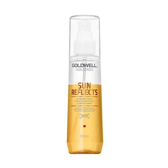 GOLDWELL Spryskaj włosy wystawione na działanie słońca Gold dobrze Sun Reflects (UV Protect Spray) 150 ml