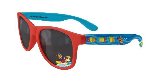 """EUROSWAN Otroška sončna očala """"Tačke na patrulji"""" - rdeča"""