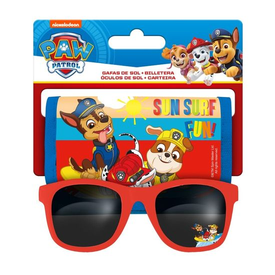 """EUROSWAN Otroški komplet (denarnica + sončna očala) """"Tačke na patrulji"""""""