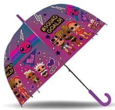"EUROSWAN Mechanikus esernyő ""LOL"" - lila"