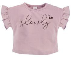 PINOKIO dievčenské tričko Sweet Cherry 1-02-2102-420G-RO 68 ružová