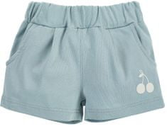 PINOKIO 1-02-2102-560O-ZI Sweet Cherry kratke hlače za djevojčice, plave, 68