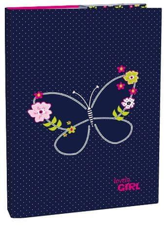Stil Box na sešity A4 Blue Butterfly