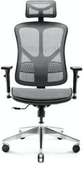 Diablo Chairs V-Basic, fekete/szürke (5902560337259)