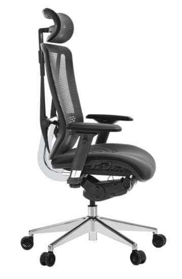 Hyle T-086A-MF pisarniški stol, črn