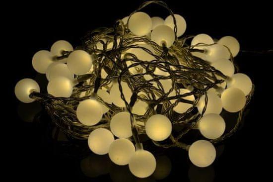 shumee Záhradné párty osvetlenie – vonkajšie 50 LED teplá biela