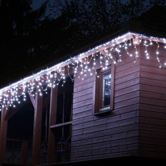 shumee Karácsonyi fényeső VOLTRONIC® 5m/200x LED - hideg fehér
