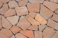 shumee Mramorová mozaika Garth- červená / terakota obklady 1 m2