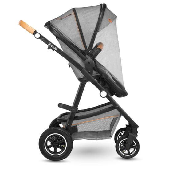 Lionelo Amber 3v1 kombiniran otroški voziček
