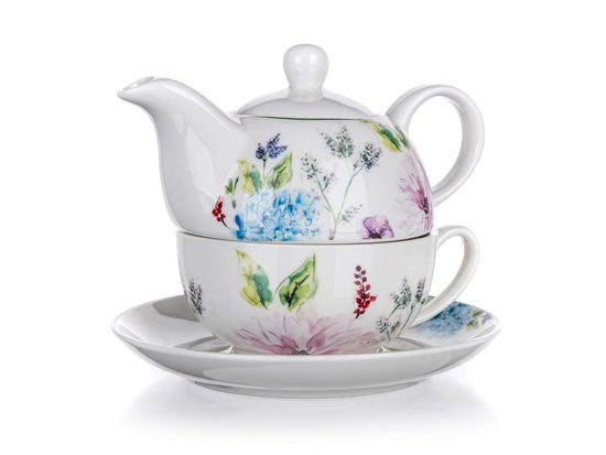 Banquet Wildflowers čajni komplet, 400 + 220 ml