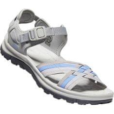 KEEN Ženski sandali TERRADORA II STRAPPY OPEN TOE WOMEN grey / hortenzija (Velikost 37)