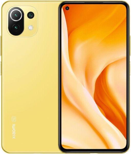 Xiaomi Mi 11 Lite 5G, 6GB/128GB, Citrus Yellow